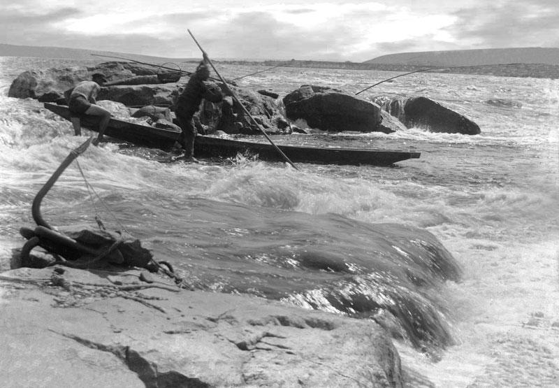 Рыбалка на пороге Днепра.